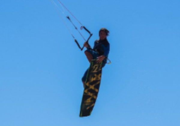 Como saltar en Kitesurf