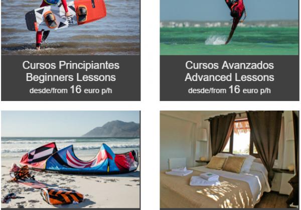 Oferta cursos de kitesurf en Tarifa