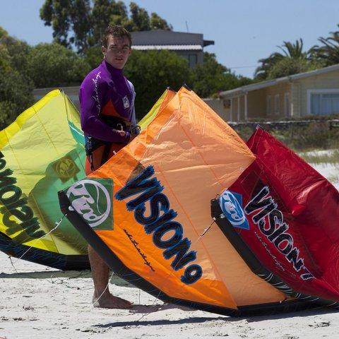 Kite RRD Vision 2015 para escuelas de kitesurf