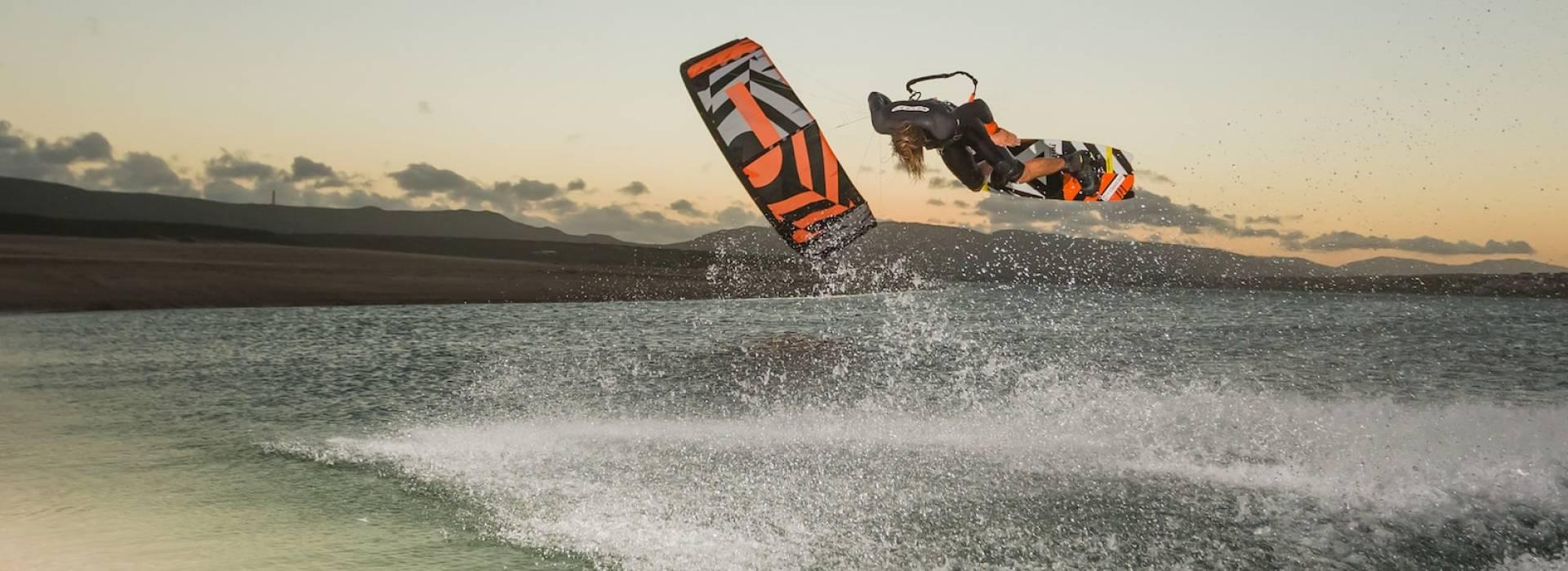 kitesurf lessen op 360 graden